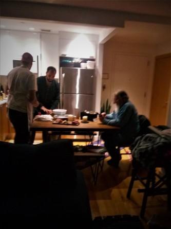 Men in the kitchen